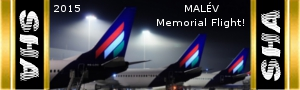 MALÉV Memorial Flight!