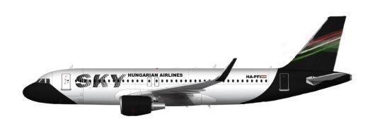 Sky Hungarian Airlines Airbus A320-200 HA-PFI
